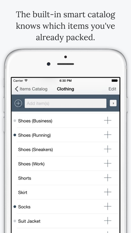 TripList Pro - Packing List Manager