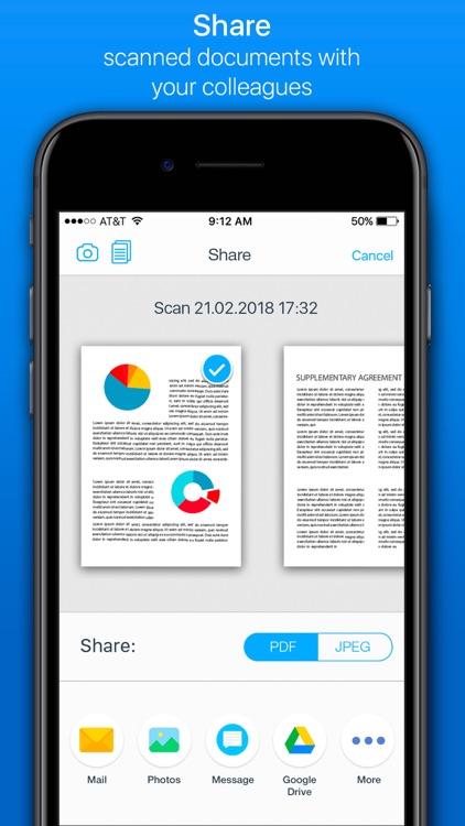 Scanner & Fax Pro screenshot-3