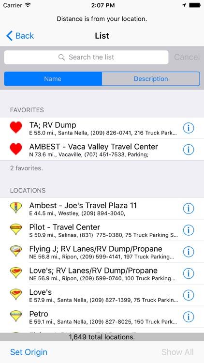 Truck & RV Fuel Stations screenshot-4