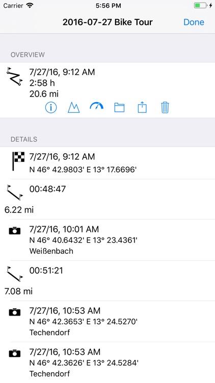 myTracks - The GPS-Logger