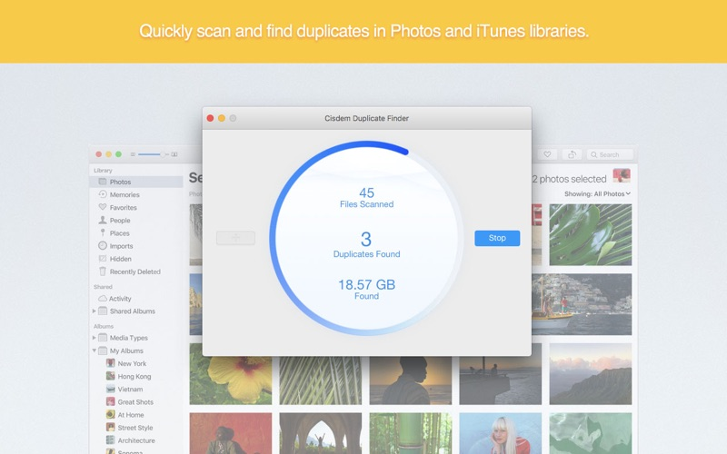 Cisdem Duplicate Finder Screenshots