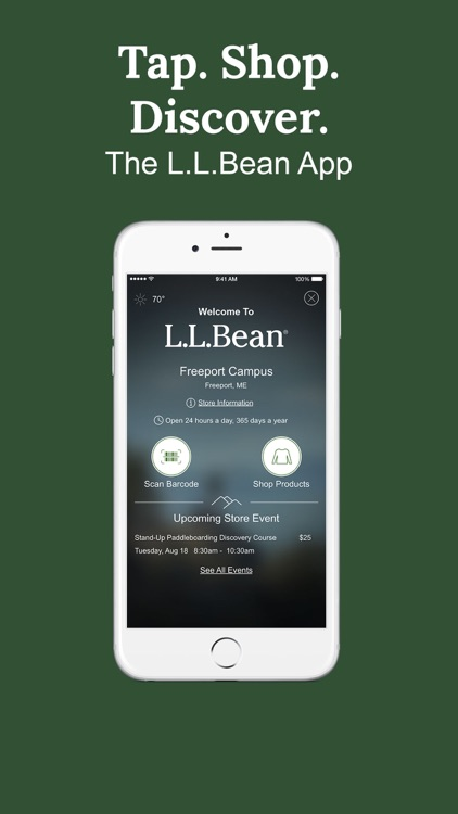 L.L.Bean –  Outdoor Outfitters
