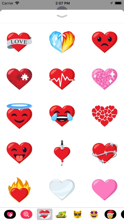 Heart Pack by EmojiOne screenshot-1