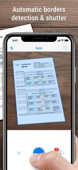 IScanner PDF Scanner App On The App Store - Invoice scanner app