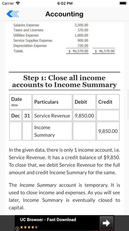 Basic Accounting Tutor screenshot-4