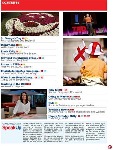 Скриншот из Speak Up Magazine