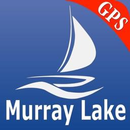 Murray lake GPS nautical Chart