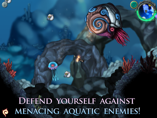 Screenshot from Aquaria