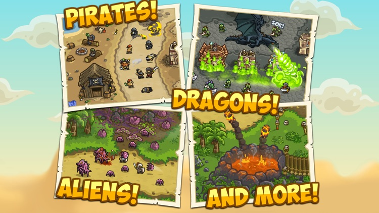 Kingdom Rush Frontiers screenshot-4