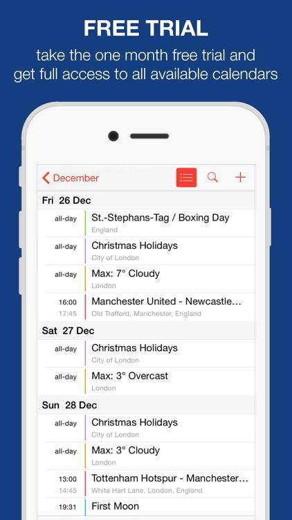 UK Holidays - Bank and School screenshot-3