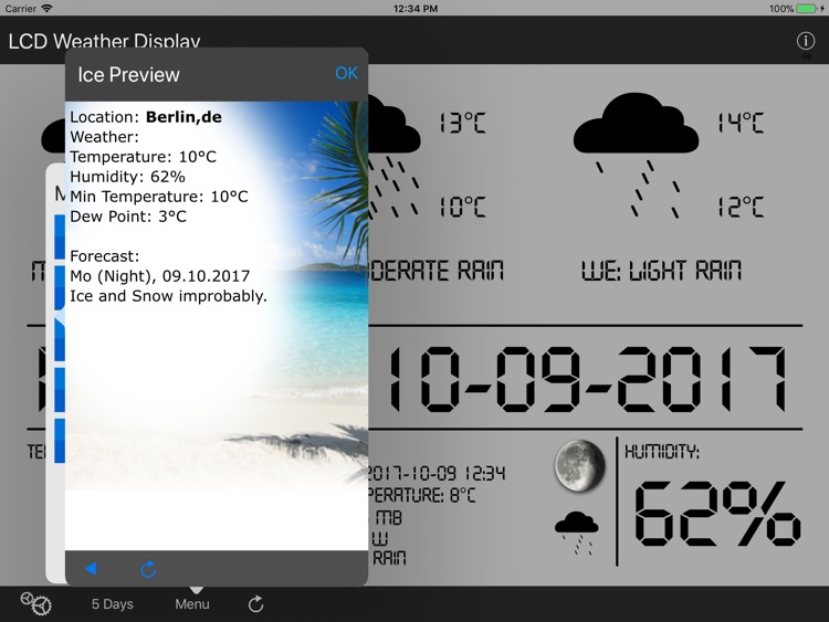 LCD Weather Display screenshot-3