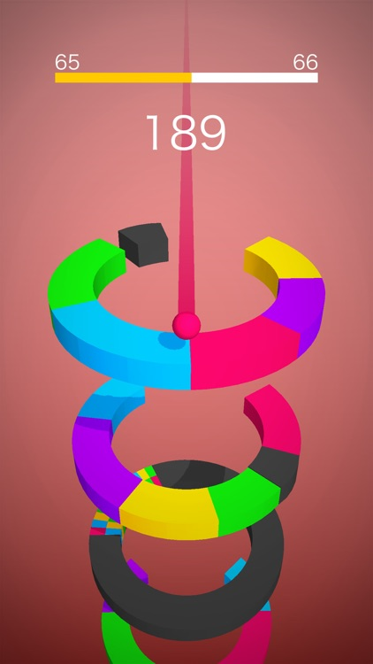 Color Ball - Jump Switch Road screenshot-0