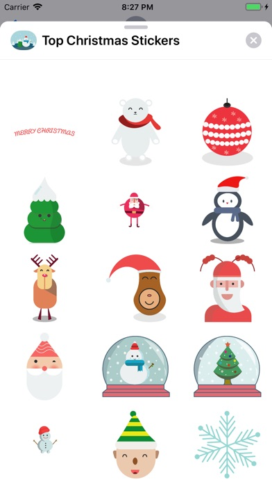 Top Christmas Stickers screenshot 2