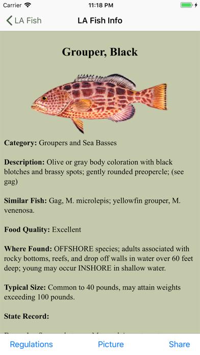 FL Saltwater Fishing Companion Screenshot