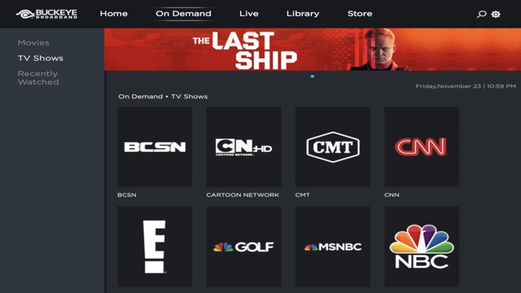 StreamTV Powered by Buckeye screenshot-3