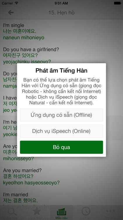 Từ điển Hàn - Việt, Việt - Hàn screenshot-4
