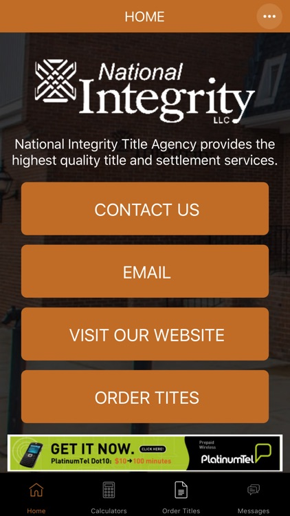 National Integrity Title