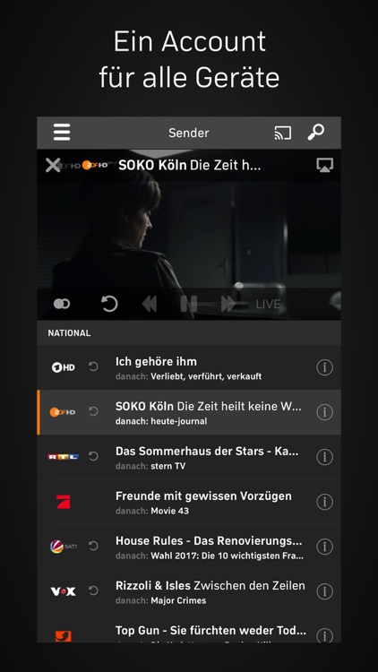 Zattoo - TV Streaming screenshot-4