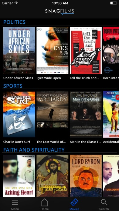 SnagFilms Screenshot