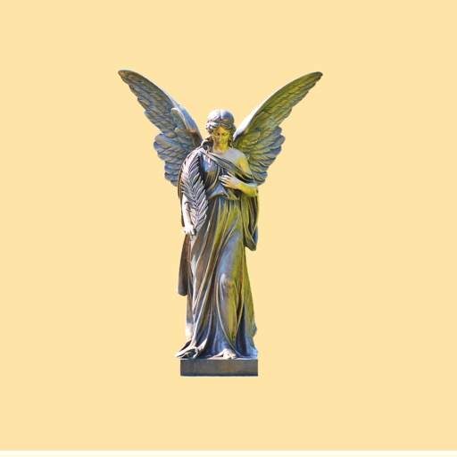 Angel Statue Stickers