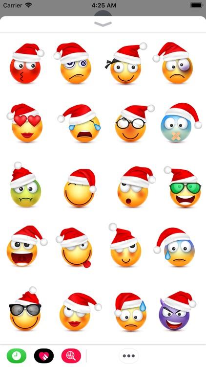 Holiday Emoji's