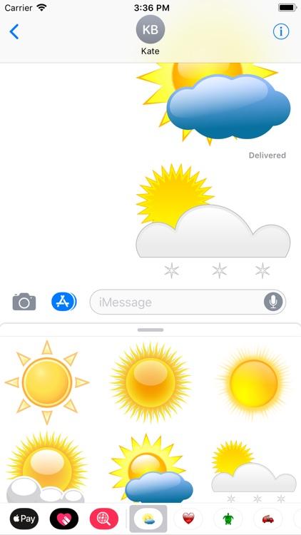 My Weather Sticker Pack screenshot-5