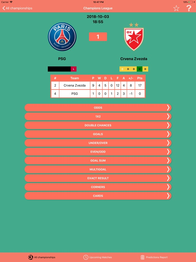 Bullet Bet Predictions on the App Store