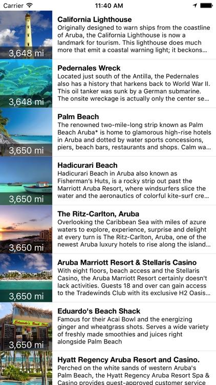 VR Guide: Aruba