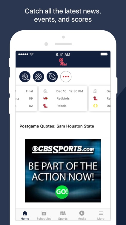 Ole Miss Athletics screenshot-1