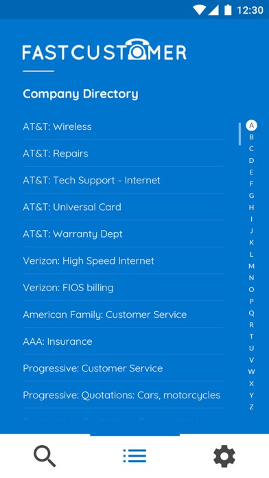 Fast Customer screenshot two