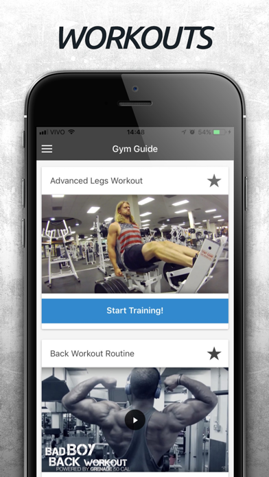 Gym Guide - Exercise Tutorial screenshot two