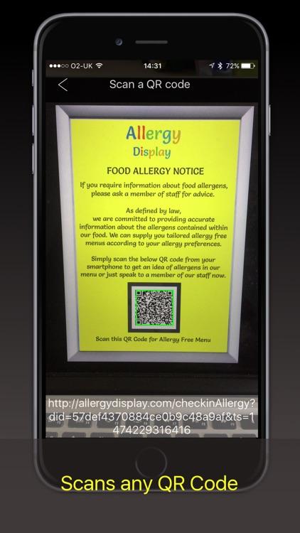 Allergy Display: Food Allergy screenshot-3