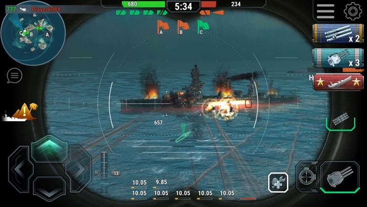 Warships Universe Naval Battle screenshot-3