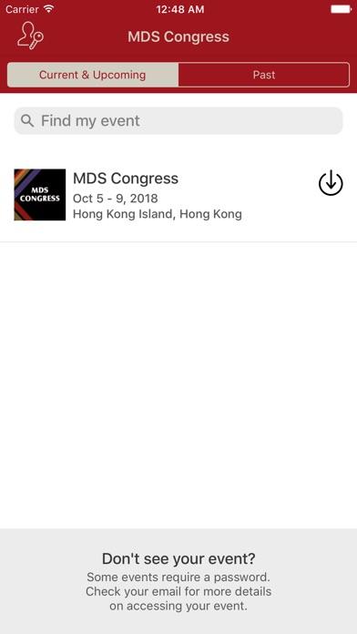 MDS Congress screenshot one