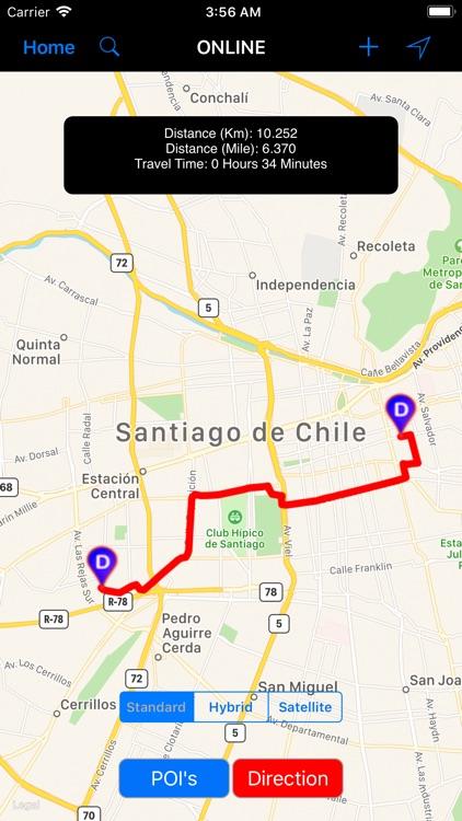 Santiago de Chile - Travel Map screenshot-3