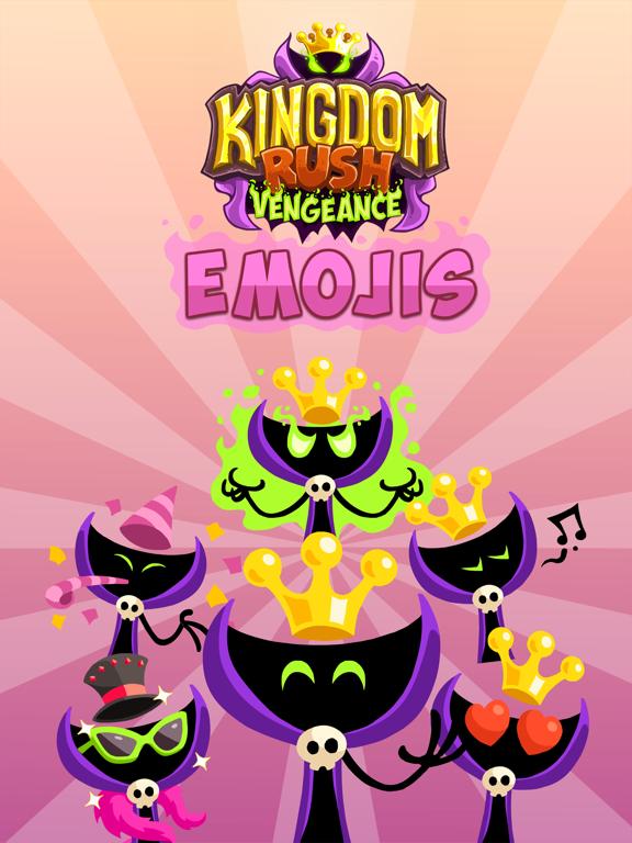 Kingdom Rush Vengeance Emojis screenshot 4