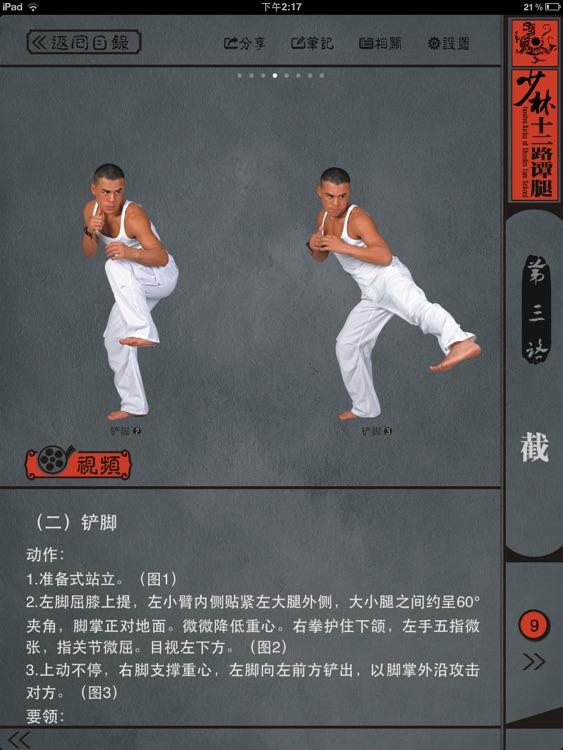 少林十二路谭腿 screenshot-3