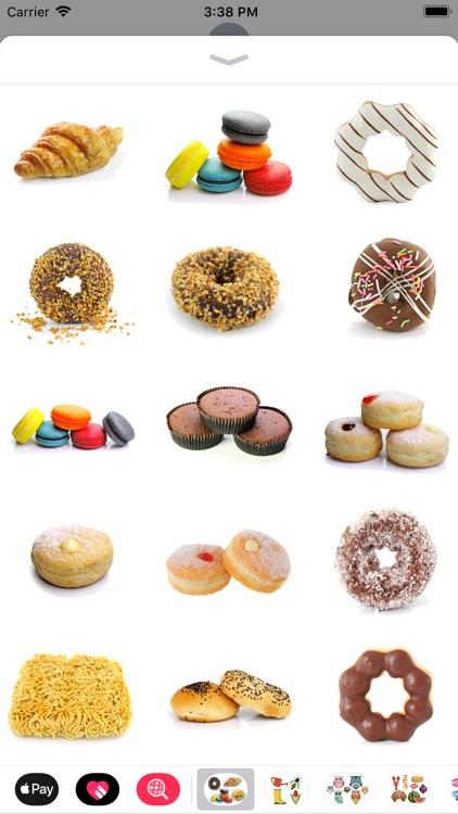 Sweet Treat Dessert Stickers screenshot-4