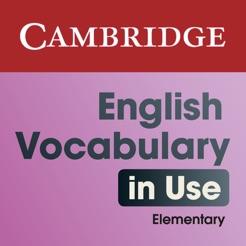 English Vocabulary In Use Elementary Pdf