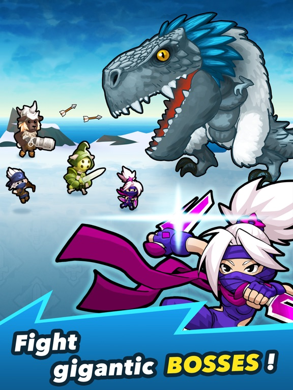 Crush Them All - Idle RPG на iPad
