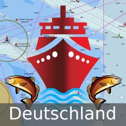 Germany: Marine Navigation Charts & Lake Maps
