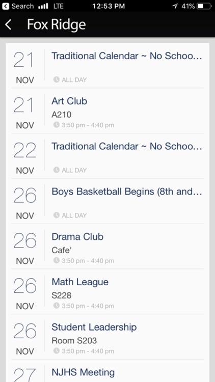Fox Ridge Middle School App screenshot-3