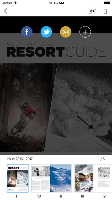 Mountain Life RESORT GUIDE screenshot 2