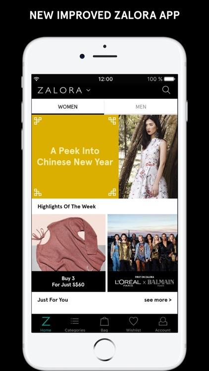 ZALORA - Fashion Shopping screenshot-0