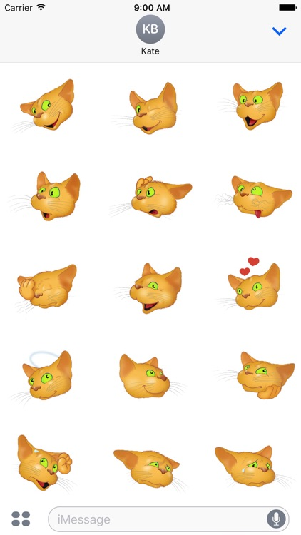 Golden Cat emoji screenshot-4