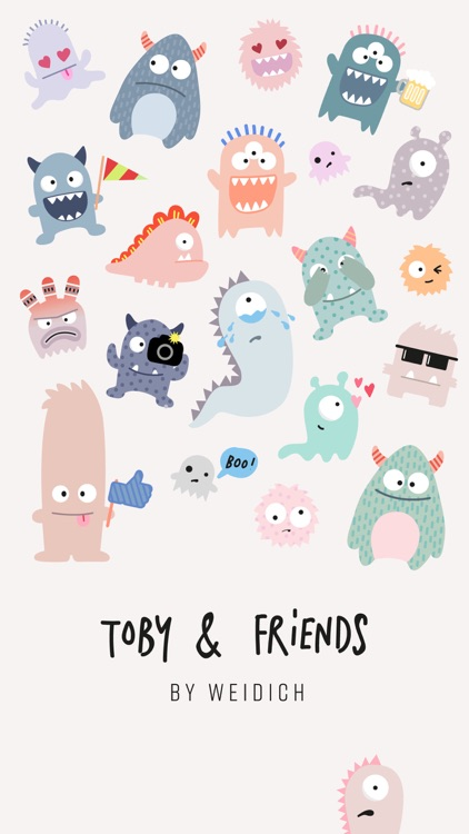 Toby & Friends Stickies screenshot-0
