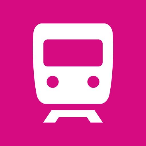 City Rail Map - Travel Offline