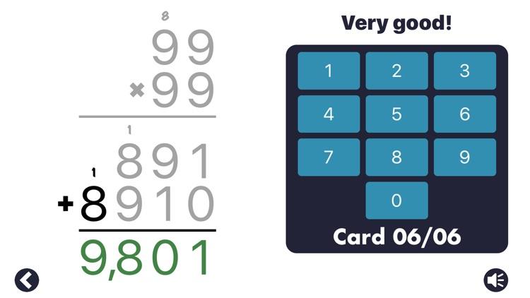 MathEdge Multiplication screenshot-3