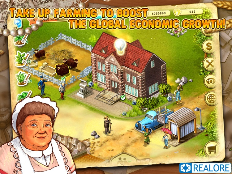 Farm Up! HD: farming business screenshot-3