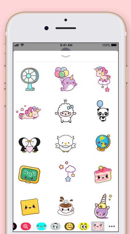 Cute Kawaii Stickers screenshot-5